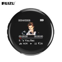 $enCountryForm.capitalKeyWord Australia - New Original Ruizu M1 Bluetooth Sport Mp3 Player Portable Audio 8gb With Built-in Speaker Fm E-book Radio Ape Flac Music Players