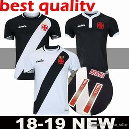 108263ec26e94 2018 2019 Vasco da Gama jersey MAXI Y.PIKACHU A. RIOS PAULINHO top quality  soccer jerseys 18 19 Da Gama home away football men shirts