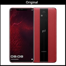 $enCountryForm.capitalKeyWord UK - Huawei Mate20 RS Porsche 8GB+512GB China Version Triple Leica Lens Back Cameras Screen Fingerprint Identification 4200mAh 6.39 inch (Red)