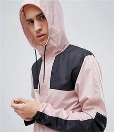 $enCountryForm.capitalKeyWord Australia - Designer Wholesale Mens Womens Designer Windbreaker Spring Autumn Zipper Hoodies Fashion Sports Jackets Gym Running Coats XS-2XL B100126Q