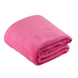$enCountryForm.capitalKeyWord UK - Solid Color Flannel Coral Blanket Plain Color Velvet Blanket Knee