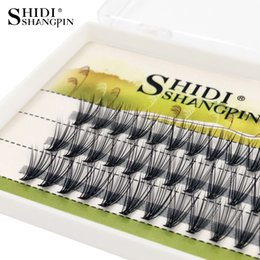 10 Pcs Hot Sale High Quality Silk 10d 0.12 Thickness All Sizes Flare Hair Eyelash Extension By Free Shipping A Great Variety Of Goods False Eyelashes