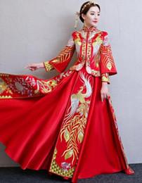 Silk chiffon wedding online shopping - 2019 New Trial Wedding Dress