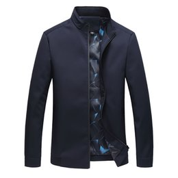 $enCountryForm.capitalKeyWord Australia - Autumn Cotton Jacket Men Slim Casual Baseball Jackets For Mens High quality Zipper Coat Homme Fashion Men Clothing M-4XL 8816