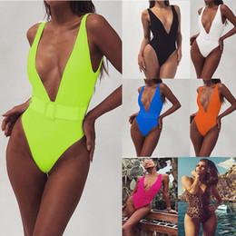 Wholesale womens shirt bodysuit for sale – plus size Summer Deep V Crystal Swimwear Sexy Rhinestone Swim Suit Women Diamond Swimsuits Female Bodysuit Monokini Womens Swimwear