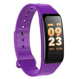 China C1s Intelligence Bracelet Motion Heart Rate Blood Pressure Waterproof Plan Step Color Screen Silica Gel Gift Bracelet suppliers