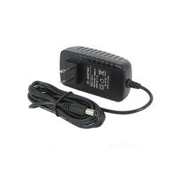 Adaptateur d'alimentation 12V Adaptateur de sécurité professionnel 5.5mm Transformateur UK US EU EU Adaptateur 12V en Solde