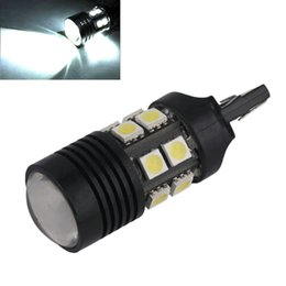 Xenon Reverse Lights Australia - Cheap Signal Lamp 1pc Xenon hite 7440 7W High Power Backup Reverse LED Light W21W 7441 992 Reverse Lights lamps Parking