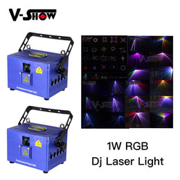 professional laser show equipment Australia - Mini RGB Laser Dj Stage Equipment Light RGB LED Mixing Effect DJ KTV Show Holiday Laser Stage Lighting