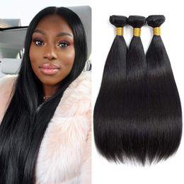 $enCountryForm.capitalKeyWord NZ - Hot! 9A Brazilian Straight Human Hair Bundles 8-30 Inch Total 300g 3 Bundles Straight Hair 100% Real Human Hair for Black Women
