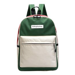 $enCountryForm.capitalKeyWord Australia - KKMHan back packCouple Schoolbag Travel Hiking Bag Color Block Backpack Collection Luminous Bag Dropshipping rucksack