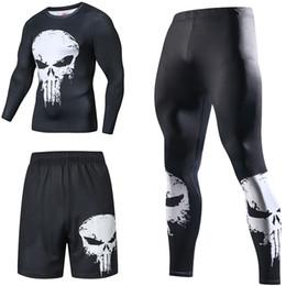 Compression Suits Australia - Compression Tracksuits Men's Sport Suit Quick Dry Running sets Clothes Sports Joggers Training Gym Fitness Man Set