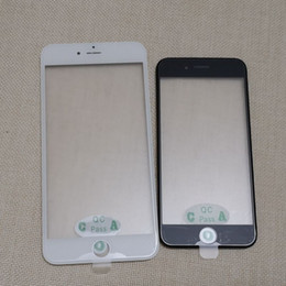 Iphone Screen Best Australia - Best Quality For iPhone 5 5S 6 6S Plus 7 8 Plus Front Touch Screen Panel Outer Glass Lens + Cold Press Frame + OCA Installed With