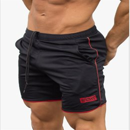 $enCountryForm.capitalKeyWord NZ - 2019 Summer Running Shorts Men Quick Dry Jogging Sport Shorts Fitness Gym Training Crossfit Sweatpants Compression Tight
