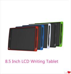 8.5 дюймов ЖК-планшет цифровой цифровой портативный рисунок планшет почерк колодки электронные планшетные доска для взрослых дети