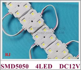 Modules Design Canada - SMD5050 New arrival New design injection LED module waterproof 5050 LED module DC12V 0.96W 4led IP66 37mm*37mm*6mm CE ROHS