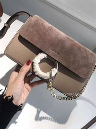 $enCountryForm.capitalKeyWord Australia - Luxury Chain Circle Ring Real Leather Designer Shoulder Bags Top quality Lady Women Flap Crossbody Bag Designer Handbags Messenger Purse