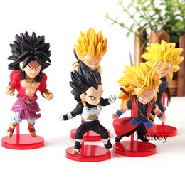 $enCountryForm.capitalKeyWord Australia - Super Dragon Ball Heroes Super Saiyan Broly Vegeta Son Goku Action Figure Toy Dragonball WCF World Collectable Figure 5pcs set
