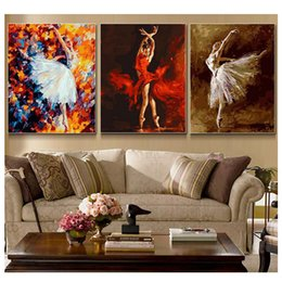 $enCountryForm.capitalKeyWord Australia - 3pcs,diamond embroidery abstract drawing dance,5d woman diamond painting,full diamond mosaic picture of rhinestones cross stitch