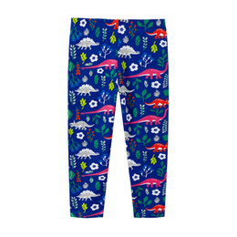 Wholesale black penguin cartoon online – ideas Kids Dinosa Girl Leggings Children Elastic Pants Cartoon Animal Watermelon Penguin Printing Girl Elastic Waist Knitted Trousers