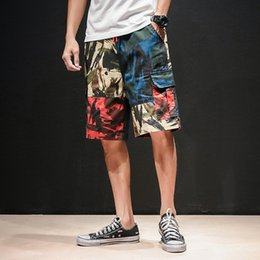 $enCountryForm.capitalKeyWord Australia - Men Summer Cotton Cargo Shorts Streetwear 2019 Mens Safari Style Knee Length Camouflage Shorts Male Pockets Hip Hop 5XL