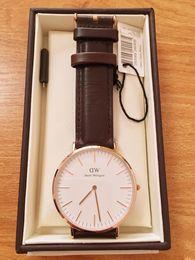 $enCountryForm.capitalKeyWord Australia - 2019 new Brand Fashion Daniel Wellington 40mm Men watch For Woman Watches DW Quartz Bracelet dz Wristwatches Montre Femme Christmas gift Box