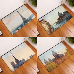 $enCountryForm.capitalKeyWord Australia - Watercolor Paris Venice Doormat Bath Kitchen Carpet Decorative Anti-Slip Mats Room Car Floor Bar Rugs Door Home Decor Gift