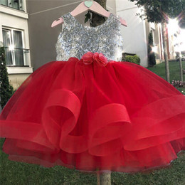 $enCountryForm.capitalKeyWord Australia - First Christmas Baptism Birthday Baby Dresses For 1 2 3 4 5 Years Infant Toddler Newborn Clothes Tutu Sequins Dresses For Girls Y19050801