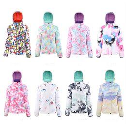$enCountryForm.capitalKeyWord Australia - 2019 New Ski Suit Women Snowboarding Sets Snowboard Winter Sportswear Snow Clothing Skiing Suit Windproof Waterproof Warm Suits