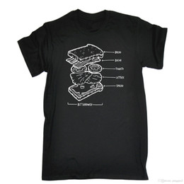 $enCountryForm.capitalKeyWord Australia - BLT SANDWICH T-SHIRT Bacon Lettuce Tomato Chef Kitchen Funny Birthday Gift 123t Shirt Cotton Hight Quality Man T Shirt