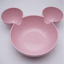 $enCountryForm.capitalKeyWord Australia - Kid Mickey Bowl Dishes Cartoon Mouse Lunch Box Kid Baby Children Infant Baby Rice Feeding Bowl Plastic Snack Plate Tableware wh0658
