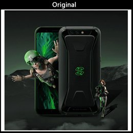 shark black NZ - Xiaomi Black Shark Gaming Phone Blackshark 5.99'' 6GB 64GB Snapdragon 845 Smartphone X Type Antenna Professional MIC 40