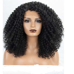 $enCountryForm.capitalKeyWord NZ - Free Shipping!!!Afro Kinky Curly Lace Front Wig Pre Plucked 100% vrigin Brazilian Human Hair wigs For Black Women