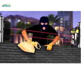 AlArm sensor door window online shopping - 12V or V Active Photoelectric Single one infrared Beam Sensor Barrier Detector for Gate Door Window burglar alarm system