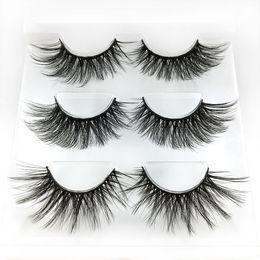 Natural Look False Eyelashes Australia - False Eyelashes 2019 Hot Synthetic Fiber Material| 3D Mink Lashes| Natural Round Look| Reusable| 100% Handmade & Cruelty-Free