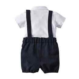 $enCountryForm.capitalKeyWord UK - American and European boy's white lapel boy's overalls and bowtie gentleman's three-piece suit