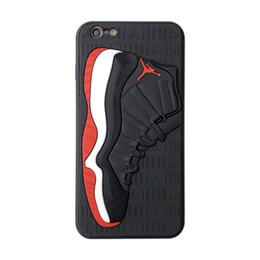 Wholesale Luxury designer phone case Matte Silicone D Basketball Shoes Pattern Phone Cover Sports Rubber Frosted Back Case for iPhone XS MAX XR