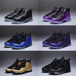 dhl shoes Australia - With Box Unisex Kids Penny Hardaway Foam One Basketball Shoes Boys Purple Sports Girls Sneakers for Child Children Athletic Teenage00 DHL