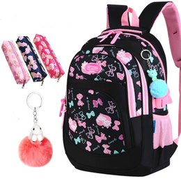 082509db0378 children school bags girls primary school backpacks kids cartoon cat  printing backpacks children princess sac enfant  31058