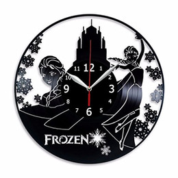 $enCountryForm.capitalKeyWord UK - The New design unique Mute handmade Crafts Frozen black Wall art Creative modern Simple Home Decor bed room Thanksgiving Gifts for father
