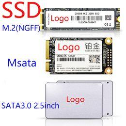 Wholesale 20pcs SSD Notebook Desktop Computer Assembly Accessories Storage 120G 128G 240G 256G 480G 512G SATA3.0 2.5inch Msata M.2 (NGFF) DHL