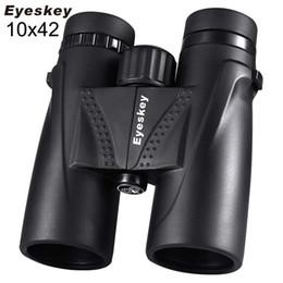 Telescope professional online shopping - 10X42 Binoculars Waterproof Professional Camping Hunting Telescope Zoom Bak4 Prism Optics with Binoculars Strap