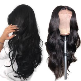 $enCountryForm.capitalKeyWord Australia - Glueless Full Lace Body Wave Wig Brazilian Remy Hair Lace Frontal Wigs Human Hair Pre Plucked With Baby Hair For African American