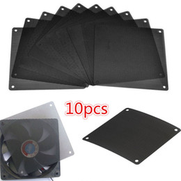 computer dust covers NZ - 120x120mm Computer PC Dustproof Cooler Fan Case Cover Dust Filter 10pcs