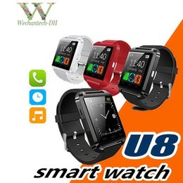 smart watch compatible samsung s5 NZ - Bluetooth Smart Watch U8 Watch Wrist Smartwatch for iPhone 4 4S 5 5S 6 6S 6 plus Samsung S4 S5 Note 2 Note 3 HTC Android Phone Smartphones
