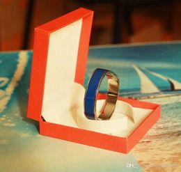 Ingrosso qualità fine moda jewerly 12mm Luxury H Bracciali Bangle Wristband Bracciale braccialetto lettera fibbia bracciali per le donne uomini coppia