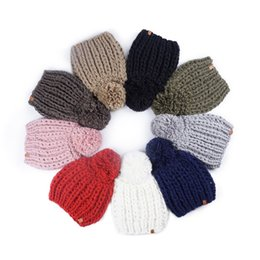 skiing beanies Canada - Knit Slouchy Beanie Hats for Women Oversized Warm Winter Outdoor Sport Hat Baggy Ski Cap Styles 9 N11Z