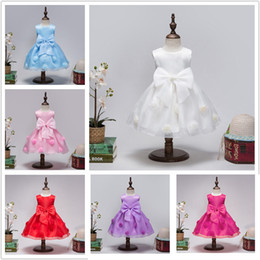 $enCountryForm.capitalKeyWord Australia - AiLe Rabbit 5 clolrs Summer new girls solid princess dress baby girl ball gown gorgeous fairy dresses free shipping