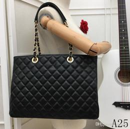 $enCountryForm.capitalKeyWord Australia - 19 years of black latest exclusive design ladies handbags classic rhombic women's shoulder bag handbag ladies wallet number 4975