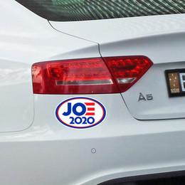 Опт 2020 Джо Байден США Выбранные письма США Печатные автомобильные Магнитный наклейка Магнит на холодильник Подходит для металлов Водонепроницаемый наклейки наклейки D7207
